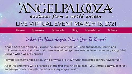Angelpalooza Event website