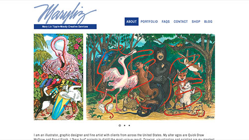 Mary Liz Tippin Moody website