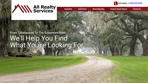 All Realty Services website