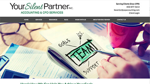 YSP Accounting website